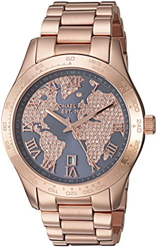 【当店1年保証】マイケルコースMichael Kors Women's Layton Rose Gold-Tone Watch MK6395