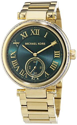 マイケルコース 腕時計 レディース マイケル・コース アメリカ直輸入 Michael Kors MK6065 Ladies Skylar Green Gold Watchマイケルコース 腕時計 レディース マイケル・コース アメリカ直輸入
