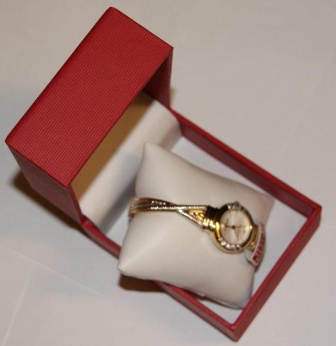 アンクライン 腕時計 レディース Genuine Diamond Two Tone Watch Anne Klein Genuine Diamonds Two Tone Bangle Watch for Womenアンクライン 腕時計 レディース Genuine Diamond Two Tone Watch