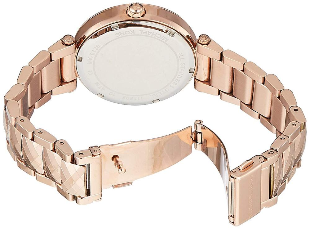 【当店1年保証】マイケルコースMichael Kors Women's Parker Rose Gold-Tone Watch MK6426