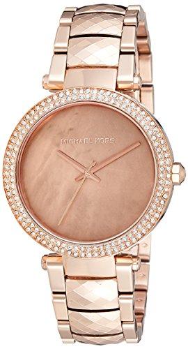 【当店1年保証】マイケルコースMichael Kors Women's Parker Rose Gold-Tone Watch MK6426