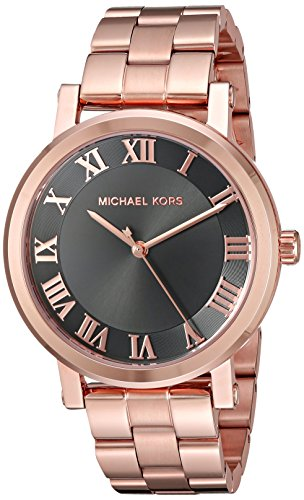 【当店1年保証】マイケルコースMichael Kors Women's Norie Rose Gold-Tone Watch MK3585