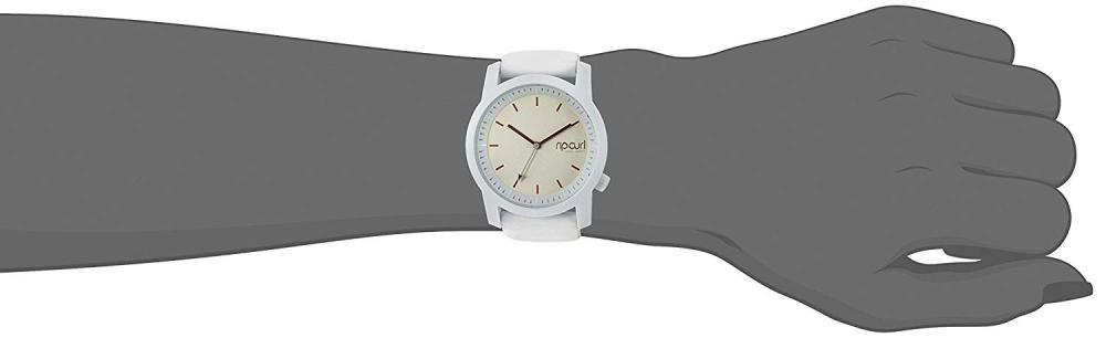 リップカール 腕時計 レディース サーファー サーフィン A2966G-WHI Rip Curl Women's Cambridge Quartz Sport Watch with Silicone Strap, White, 22 (Model: A2966GWHI1SZ)リップカール 腕時計 レディース サーファー サーフィン A2966G-WHI