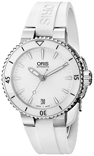オリス 腕時計 レディース 73376524156RS Oris Women's 73376524156RS Divers Analog Display Swiss Automatic White Watchオリス 腕時計 レディース 73376524156RS
