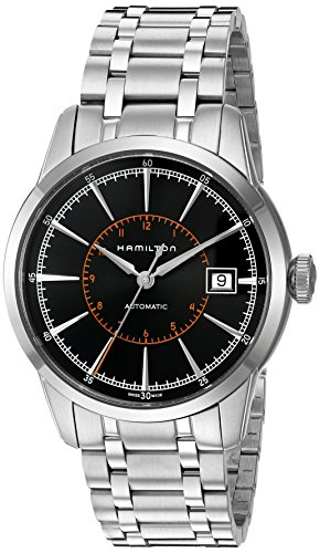 ハミルトン 腕時計 メンズ 夏のボーナス特集 H40555131 Hamilton Men's 'Timeless Classic' Swiss Stainless Steel Automatic Watch, Color:Silver-Toned (Model: H40555131)ハミルトン 腕時計 メンズ 夏のボーナス特集 H40555131