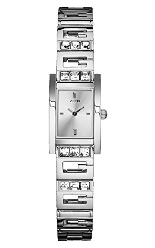 【当店1年保証】ゲスGuess W85119L1 Ladies GEE LITE Silver Watch