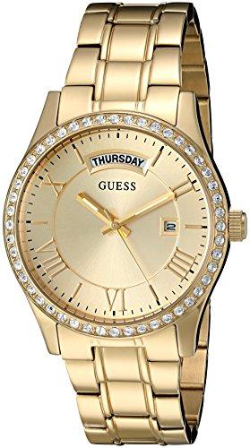 ゲス GUESS 腕時計 レディース U0764L2 GUESS Factory Women's Gold-Tone Classic Style Dress Watchゲス GUESS 腕時計 レディース U0764L2