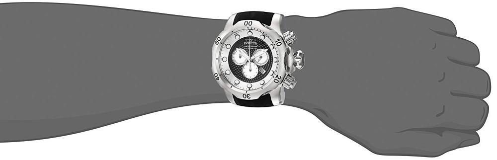 インヴィクタ インビクタ ベノム 腕時計 メンズ 20439 Invicta Men's Venom Stainless Steel Quartz Watch with Silicone Strap, Black, 32 (Model: 20439インヴィクタ インビクタ ベノム 腕時計 メンズ 20439