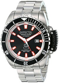 【当店1年保証】インヴィクタInvictaMen's'ProDiver'StainlessSteelAutomaticWatch,Color:Silver-Toned(Model:21