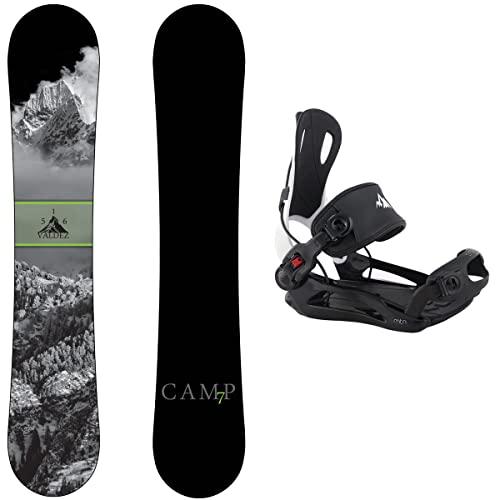 スノーボード ウィンタースポーツ キャンプセブン 2017年モデル2018年モデル多数 Camp Seven Package Valdez Snowboard 159 cm-System MTN Binding Largeスノーボード ウィンタースポーツ キャンプセブン 2017年モデル2018年モデル多数