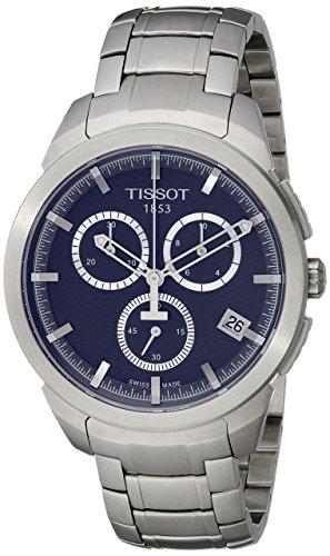 【当店1年保証】ティソTissot Men's T0694174404100 T-Sport Analog Display Quartz Silver Watch