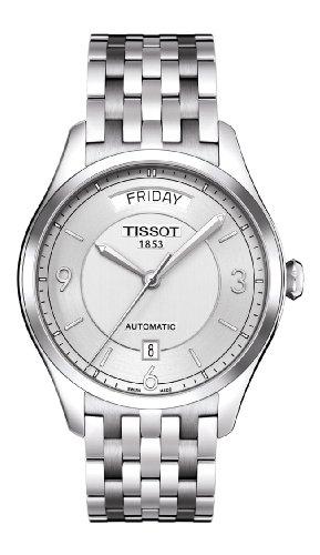 ティソ 腕時計 メンズ T0384301103700 Tissot Men's T0384301103700 T-one Analog Display Swiss Automatic Silver Watchティソ 腕時計 メンズ T0384301103700