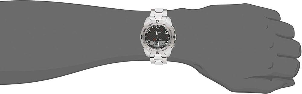 ティソ 腕時計 メンズ T0134204420100 Tissot Men's T0134204420100 T-Touch Expert Titanium Watchティソ 腕時計 メンズ T0134204420100