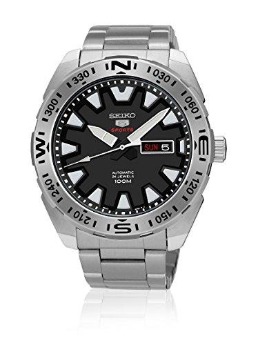 セイコー 腕時計 メンズ SRP739K1 Seiko Automatic SRP739 5 Sports Black Dial With Luminious Markers Stainless Steel Mens Watchセイコー 腕時計 メンズ SRP739K1