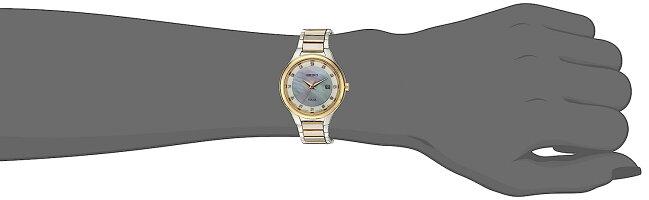 【当店1年保証】セイコーSeikoWomen's'DiamondDialDress'QuartzStainlessSteelCasualWatch,Color:TwoTone(Model: