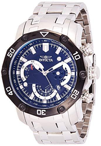 インヴィクタ インビクタ プロダイバー 腕時計 メンズ 22760 Invicta Men's Pro Diver Quartz Watch with Stainless-Steel Strap, Silver, 26 (Model: 22760インヴィクタ インビクタ プロダイバー 腕時計 メンズ 22760