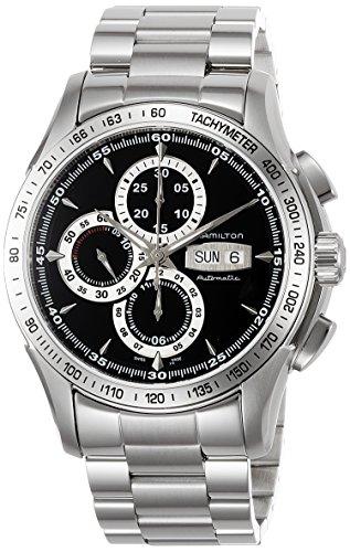 ハミルトン 腕時計 メンズ H32816131 Hamilton Men's H32816131 Lord Hamilton Black Day Date Chronograph Dial Watchハミルトン 腕時計 メンズ H32816131