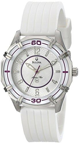ブローバ 腕時計 レディース 96L144 Bulova Women's 96L144 Solano Marine Star Rubber Watchブローバ 腕時計 レディース 96L144