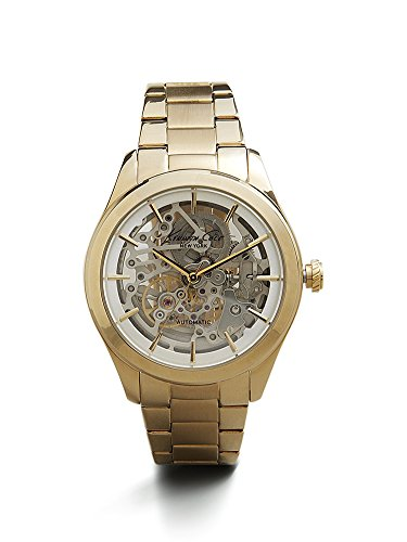 ケネスコール・ニューヨーク Kenneth Cole New York 腕時計 レディース 10025927 Kenneth Cole New York Women's 10025927 Automatic Analog Display Japanese Automatic Gold Watchケネスコール・ニューヨーク Kenneth Cole New York 腕時計 レディース 10025927