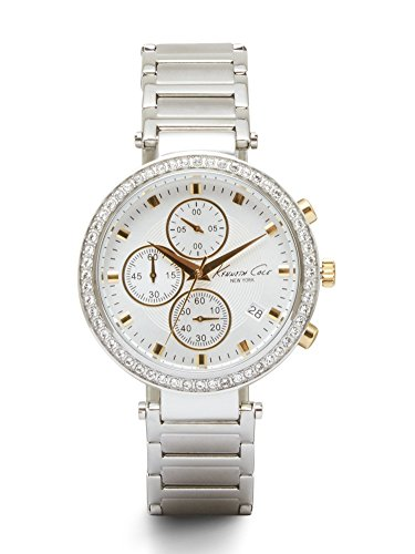 【当店1年保証】ケネスコール・ニューヨークKenneth Cole New York Women's 10019755 Stainless Steel Chronograph
