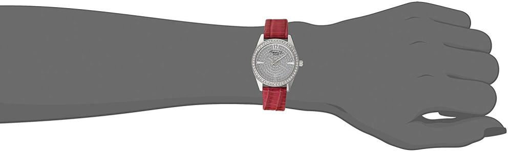 "【当店1年保証】ケネスコール・ニューヨークKenneth Cole New York Women's KC2843 ""Classic"" Crystal-Accented Sta"
