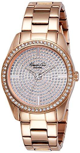 ケネスコール・ニューヨーク Kenneth Cole New York 腕時計 レディース KC4958 Kenneth Cole New York Women's KC4958 Classic Triple Rose Gold Bracelet Stone Dial Watchケネスコール・ニューヨーク Kenneth Cole New York 腕時計 レディース KC4958