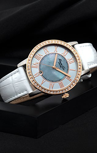 【当店1年保証】ケネスコール・ニューヨークKenneth Cole New York Women's KC2836 Classic Mother-Of-Pearl Dial R