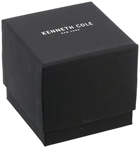 【当店1年保証】ケネスコール・ニューヨークKenneth Cole New York Men's KC9165 Classic Yellow Gold Bezel Barrel