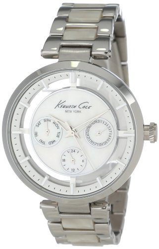 【当店1年保証】ケネスコール・ニューヨークKenneth Cole New York Women's KC4916 Transparency White Mother of P