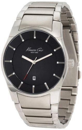 """ケネスコール・ニューヨーク Kenneth Cole New York 腕時計 メンズ KC3868 Kenneth Cole New York Men's KC3868 """"Super-Sleek Collection"""" Bracelet Watch with Black Dialケネスコール・ニューヨーク Kenneth Cole New York 腕時計 メンズ KC3868"""