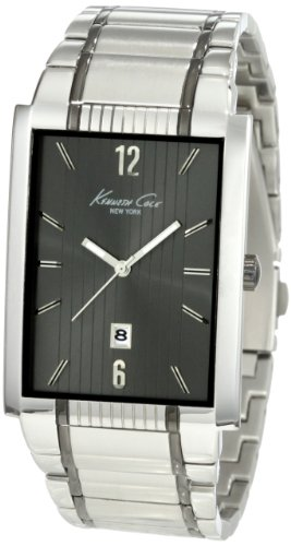 ケネスコール・ニューヨーク Kenneth Cole New York 腕時計 メンズ KC3921 Kenneth Cole New York Men's KC3921 Classic Rectangular Analog Date Watchケネスコール・ニューヨーク Kenneth Cole New York 腕時計 メンズ KC3921
