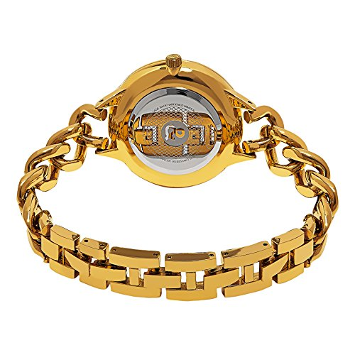 SO&CO ニューヨーク 腕時計 レディース 5225.3 SO&CO New York Women's 5225.3 SoHo Quartz Silver Crystal Accented Dial Stainless Steel 23K Gold-Tone Chain-Link Bracelet WatchSO&CO ニューヨーク 腕時計 レディース 5225.3
