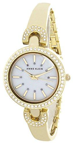 腕時計, レディース腕時計  2021 AK2578MPGB Anne Klein Womens Pearl Dial Gold Tone Metal Bracelet Bangle Watch AK2578MPGB 2021 AK2578MPGB