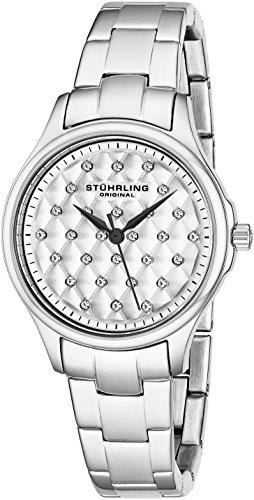 ストゥーリングオリジナル 腕時計 レディース 567.01 Stuhrling Original Women's 567.01 Vogue Culcita Analog Display Swiss Quartz Silver Watchストゥーリングオリジナル 腕時計 レディース 567.01
