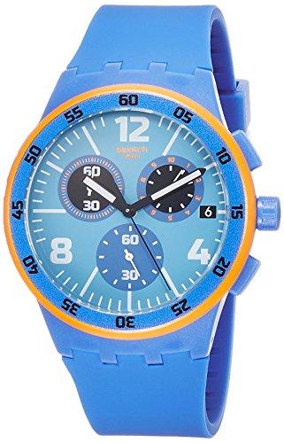 スウォッチ 腕時計 メンズ SUSN413 Swatch Capanno Blue Dial Blue Silicone Strap Men'S Watch Susn413スウォッチ 腕時計 メンズ SUSN413