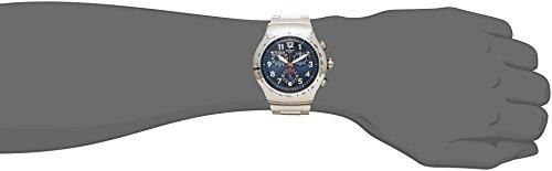 スウォッチ 腕時計 メンズ YOS455G Swatch BLUE MAXIMUS Men's Stainless Steel Band Watch YOS455Gスウォッチ 腕時計 メンズ YOS455G