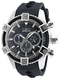 インヴィクタインビクタボルト腕時計メンズ90268InvictaMen's'Bolt'QuartzStainlessSteelandPolyurethaneCasualWatch,Color:Black(Model:90268)インヴィクタインビクタボルト腕時計メンズ90268