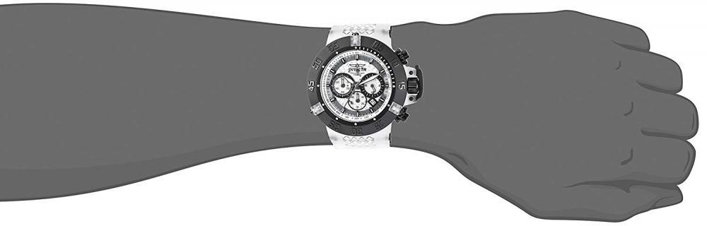 インヴィクタ インビクタ サブアクア 腕時計 メンズ 24360 Invicta Men's Subaqua Stainless Steel Quartz Watch with Silicone Strap, White, 28 (Model: 24360インヴィクタ インビクタ サブアクア 腕時計 メンズ 24360