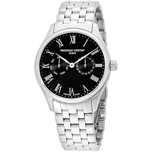0e4532038d フレデリックコンスタント フレデリック・コンスタント 腕時計 メンズ FC-259BR5B6B Frederique Constant Mens  Classic Black Dial Bracelet Watch FC259BR5B6B ...