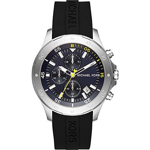 マイケルコース 腕時計 メンズ マイケル・コース アメリカ直輸入 MK8567 Michael Kors Men's Quartz Stainless Steel and Silicone Casual Watch Color:Black (Model: MK8567)マイケルコース 腕時計 メンズ マイケル・コース アメリカ直輸入 MK8567