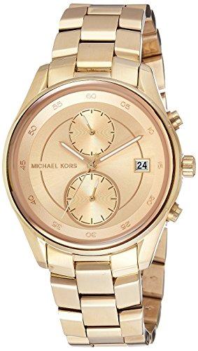 【当店1年保証】マイケルコースMichael Kors Women's Briar Gold-Tone  Watch MK6464