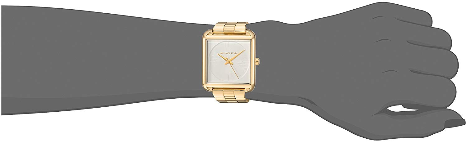【当店1年保証】マイケルコースMichael Kors Women's Lake Gold-Tone Watch MK3644