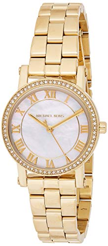 【当店1年保証】マイケルコースMichael Kors Women's Quartz Stainless Steel Casual Watch, Color:Gold-Toned (Model: MK