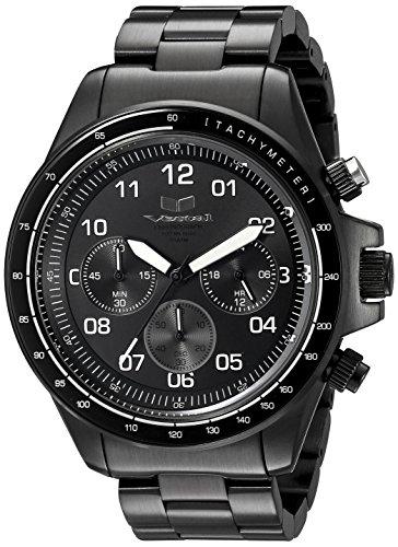 ベスタル ヴェスタル 腕時計 メンズ ZR2010 Vestal Men's ZR2010 ZR-2 Black with White Lume Chronograph Watchベスタル ヴェスタル 腕時計 メンズ ZR2010