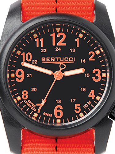ベルトゥッチ 逆輸入 海外モデル 海外限定 アメリカ直輸入 4331784846 Bertucci DX3 Field Resin Watch, Dash-Striped Drab Nylon Strap, Black Dial - 11042ベルトゥッチ 逆輸入 海外モデル 海外限定 アメリカ直輸入 4331784846
