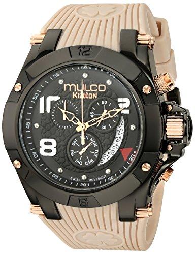 マルコ 腕時計 メンズ MW5-2029-115 MULCO Unisex MW5-2029-115 Analog Display Swiss Quartz Beige Watchマルコ 腕時計 メンズ MW5-2029-115