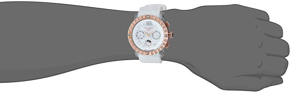 マルコ 腕時計 メンズ MW5-1876-013 MULCO Unisex Nuit Lace XL Analog Display Swiss Quartz Watch - Multifunctional 100% Silicone Band - Water Resistant Stainless Steel (White)マルコ 腕時計 メンズ MW5-1876-013