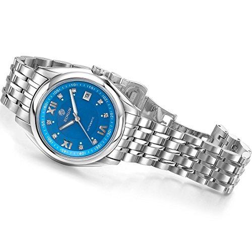 ビンルン 腕時計 メンズ BL0021G-SSB2-A Binlun Men's Automatic Watch Stainless Steel Large Face Watches for Men with Date(Blue)ビンルン 腕時計 メンズ BL0021G-SSB2-A