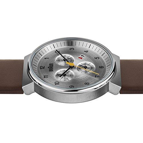 ブラウン 腕時計 メンズ BN0035SLBRG Braun Men's BN0035SLBRG Classic Chronograph Analog Display Japanese Quartz Brown Watchブラウン 腕時計 メンズ BN0035SLBRG