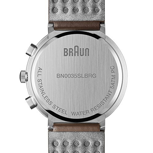 ブラウン 腕時計 メンズ BN0035SLBRG Braun Men's BN0035SLBRG Classic Chronograph Analog Display Japanese Quartz Brown Watchブラウン 腕時計 メンズ BN0035SLBRG
